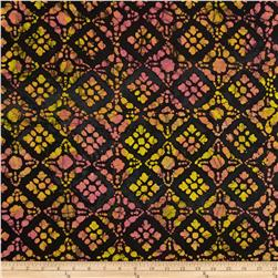 Indian Batik Block Orange/Yellow