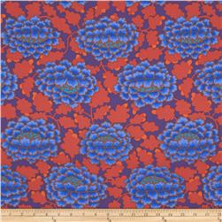 Kaffe Fassett Collective Frilly Blue Fabric