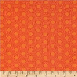 Jungle Things Hexies Orange