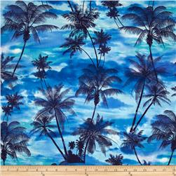 Kanvas Ocean Ave Tropical Sunset Blue