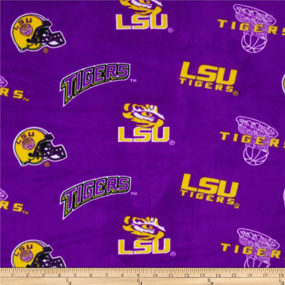 Collegiate Fleece Louisiana State University Tossed