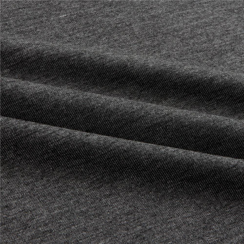 Telio Stretch Bamboo Rayon Jersey Knit Dk Heather Grey Fabric By The Yard