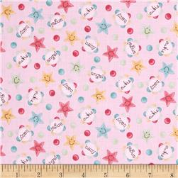 Baby Bundles Words & Stars Rose