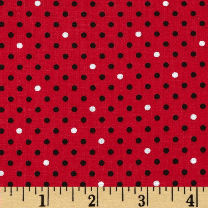 Spotlight Dots Red