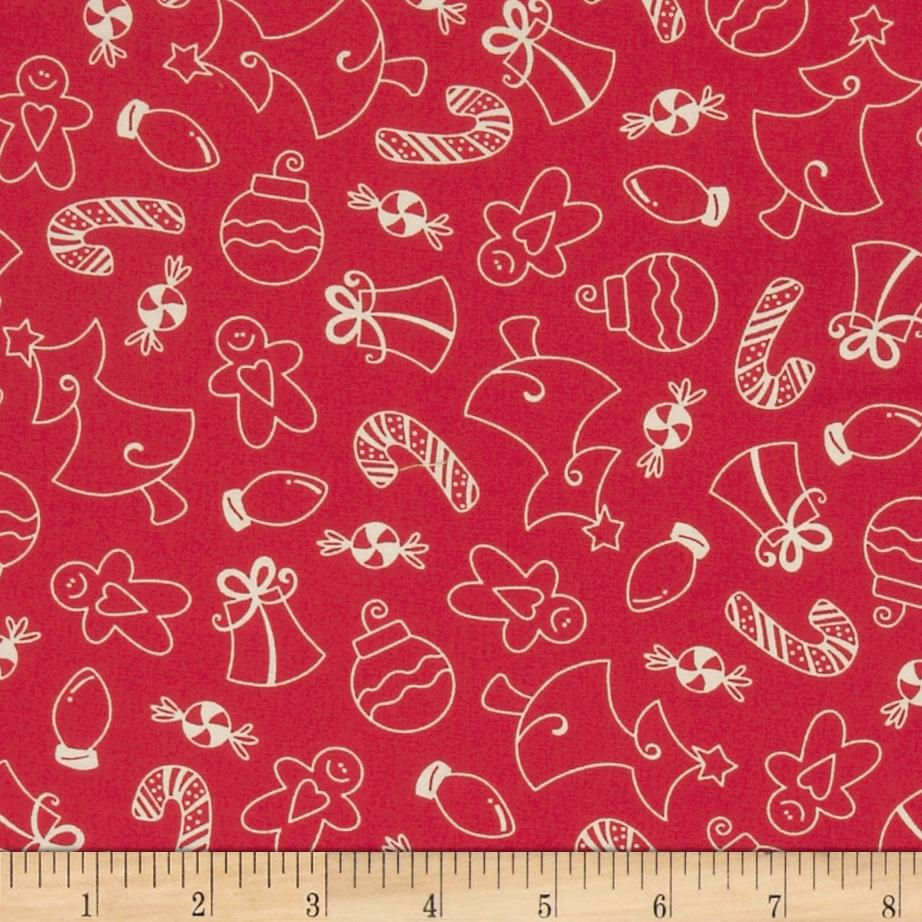 Kimberbell's Merry & Bright Christmas Goodies Red