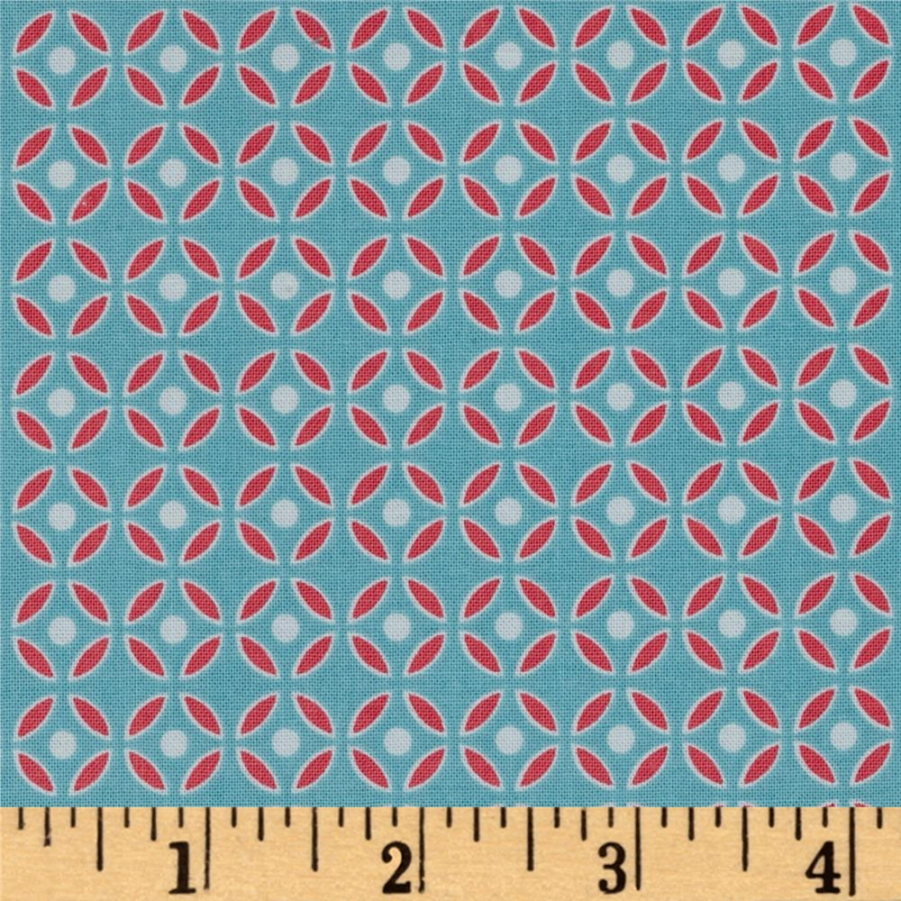 Riley Blake Bittersweet Geometric Blue