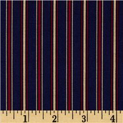 Tyler Stripes Navy