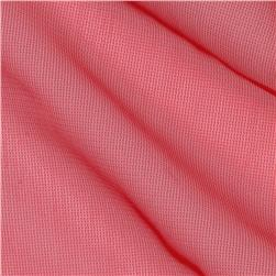 Nylon Chiffon Tricot Red Fabric