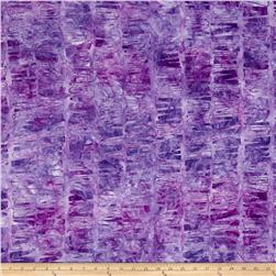 Kaufman Artisan Batiks Graphic Elements Hash Stripe Thistle