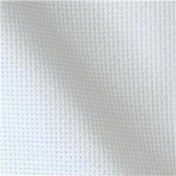 60'' Wide Aida Cloth White Fabric
