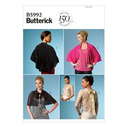 Butterick Misses' Jacket Pattern B5992 Size 0Y0