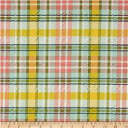 Dover Flannel Plaid Aqua