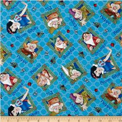 Disney Snow White & Seven Dwarves Toss Blue
