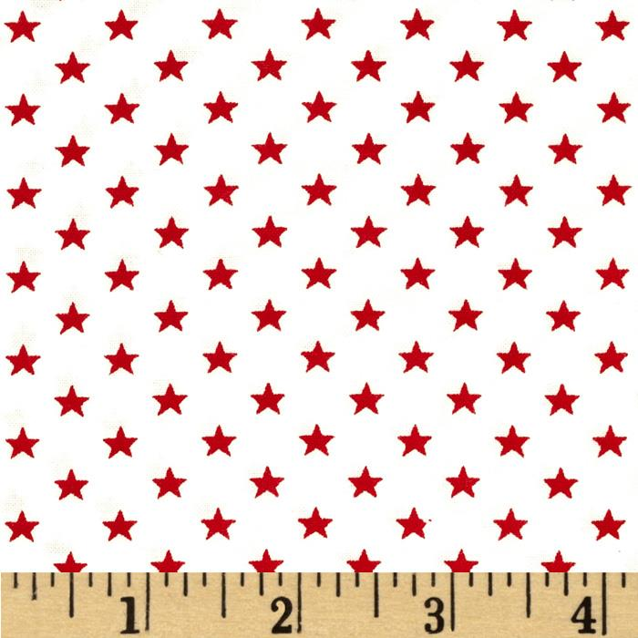 Stars & Stripes II Stars White/Red