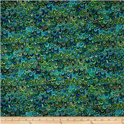 Rhapsody In Blue Metallic Mineral Magic Navy/Green
