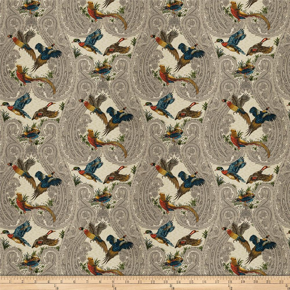 Fabricut Yawl Birds Autumn