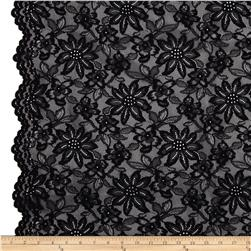 Izabel Lace Black