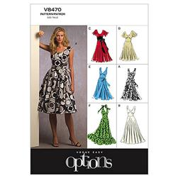 Vogue Misses' Dress Pattern V8470 Size B50