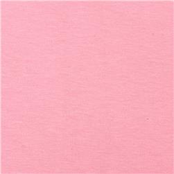 Cotton Spandex Jersey Knit Solid Pink