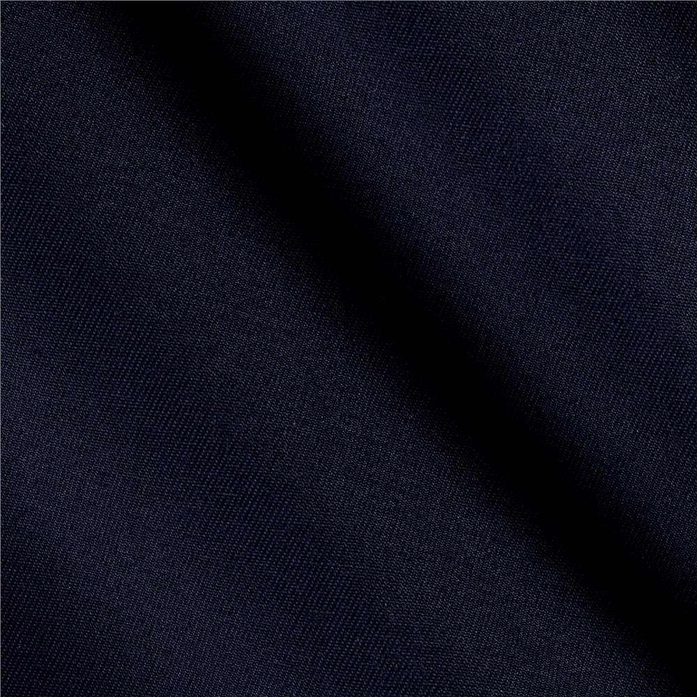 Polyester Blend Twill Navy