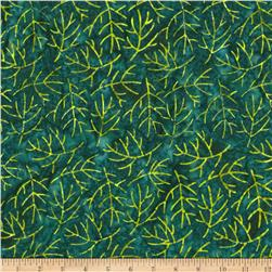 Moda Joy Batiks Sticks Evergreen