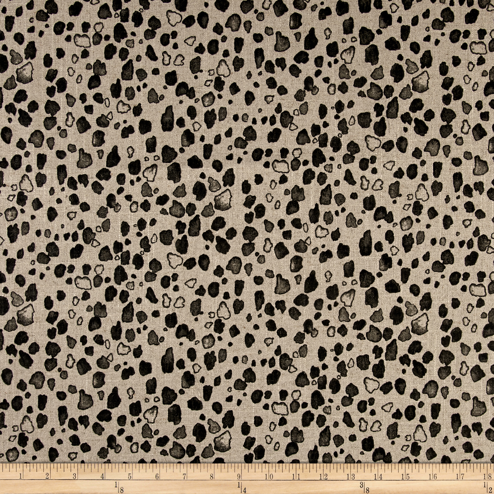 Lacefield Calico Granite Ashby Fabric by Lacefield in USA