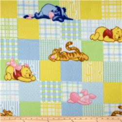 Disney Pooh's Days of Honey Patch Fleece Pastel