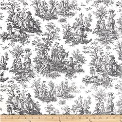 Waverly Rustic Life Toile Onyx Fabric