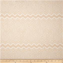 Stretch Vintage Lace Dark Cream