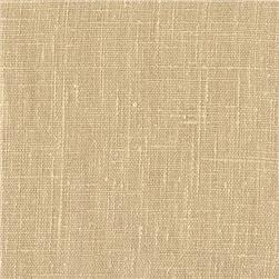 European Linen Fabric Wheat