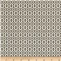 Bella Linked Circles Black/Tan