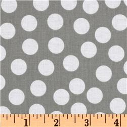 Riley Blake Tuxedo Collection Dot Gray
