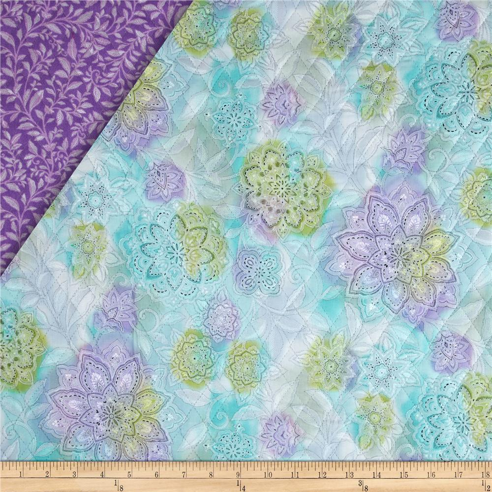 Piccadilly Double Sided Quilted Floral Multi