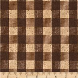 Penny Rose Menswear Check Brown
