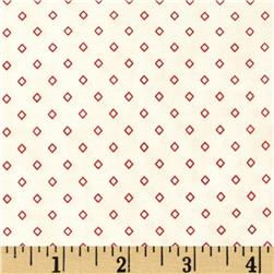 Penny Rose 19th Century Shirtings Diamond Red