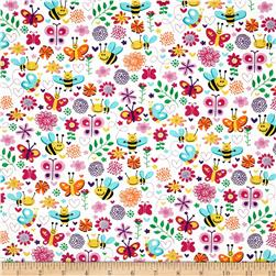 Michael Miller Busy Bee Pink