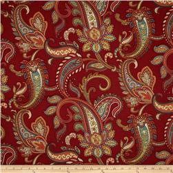 Duralee Home Lucy Paisley Red