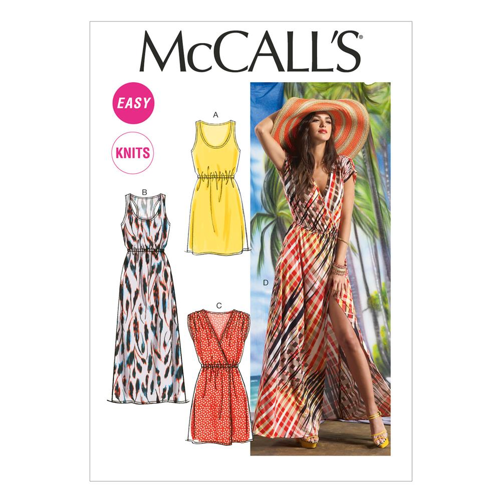 McCall's Misses' Dresses Pattern M6744 Size 0Y0