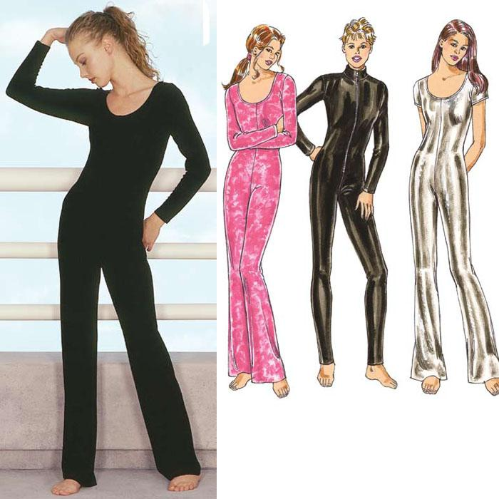 Kwik Sew Misses Unitards Pattern