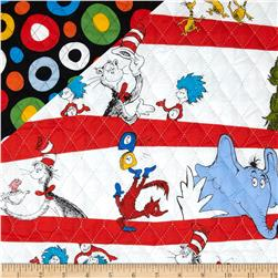 Dr. Suess Celebrate Seuss Suess Stripe/Dots Multi Fabric
