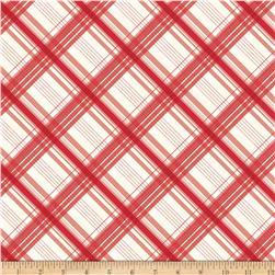 Riley Blake British Invasion Plaid Red