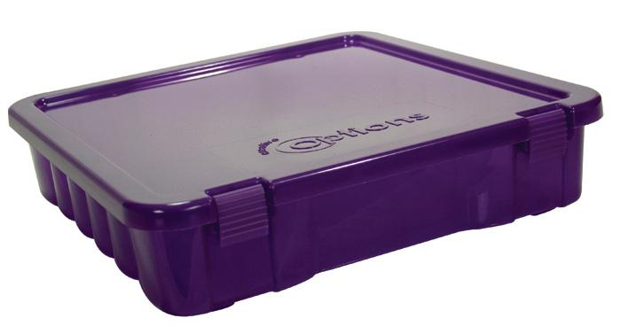 Creative Options Project Box Craft Organizer Purple