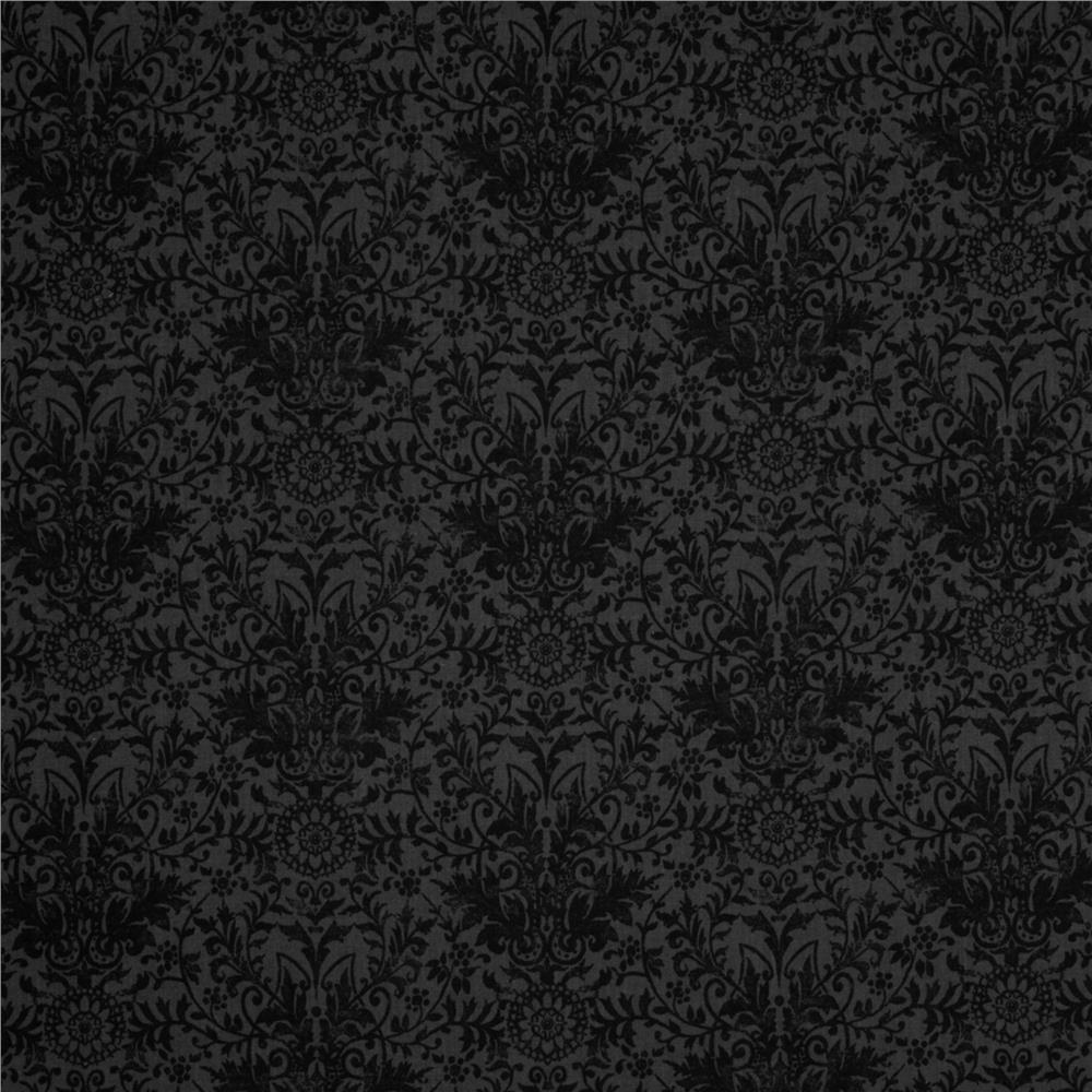 Glamour Inc. Damask Black