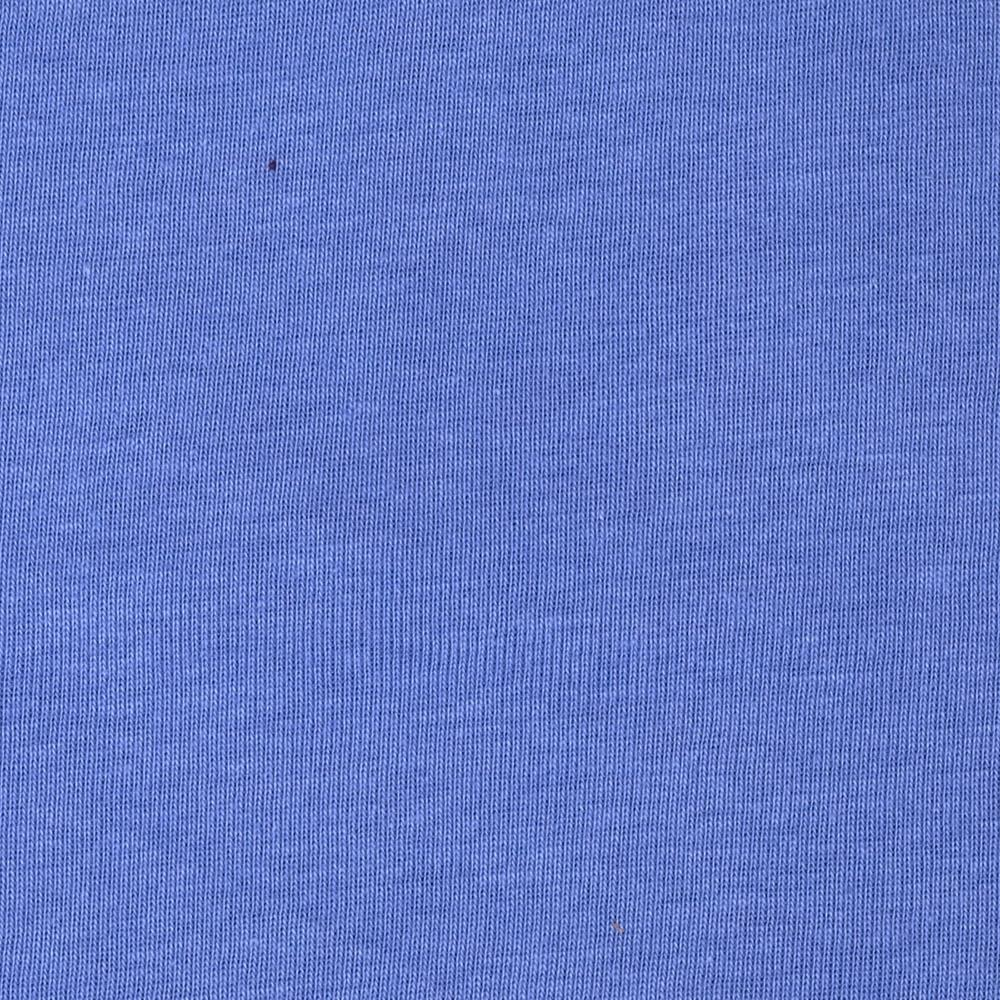 Basic Cotton Baby Rib Knit Solid Periwinkle