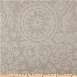 Premier Prints Suzani Blend Oatmeal/Cloud Fabric