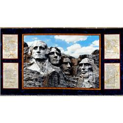 Mount Rushmore Panel Navy