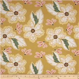 Riley Blake Valencia Large Floral Yellow