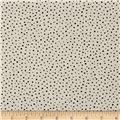 Kaufman Sevenberry Petite Basics Lawn Dots Natural