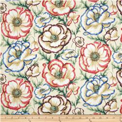 Kaffe Fassett Collective Banded Poppy Natural