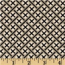 Imperial Trellis Black